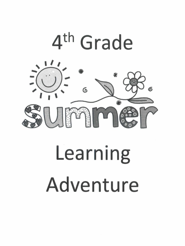 4th Grade Summer Packet