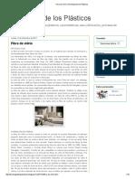 Fibra de Vidrio _ Tecnología de Los Plásticos