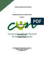 ADMINISTRACIÓN DE LA PRODUCCION