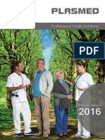 Plasmed Product Catalogue en 2016