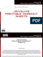 MI40 X   Workout Sheets   2. U0027Graduateu0027 (intermediate).