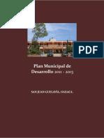 Plan de Desarrollo Municipal de San Juan Gelavia