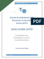 Caderno de Questões CRC – 2015-1