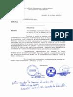 Oficio Construccion Parque Allauca