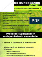 Capitulo III Procesos Supergenos