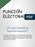 Función Electoral