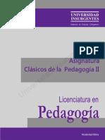 ME Clásicos de La Pedagogía II
