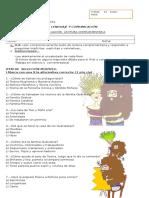 Evaluación Lectura Complementaria JUDY MOODY SALVA EL PLANETA