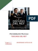 Psicoanálisis Pelicula Discurso Del Rey 2