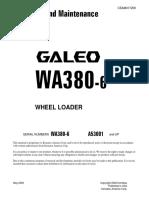 O&M WA380-6 A53001 up CEAM017200