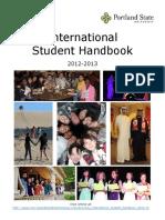PSU International Student Handbook 2012-13