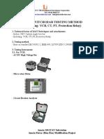 24kV Switchgear Testing