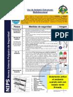 Nips 14 Uso de Andamio Estructural-multidireccional