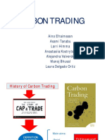 Carbon Trading and Carbon Credits
