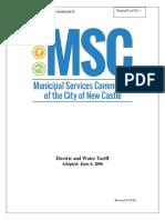 New-Castle-Municipal-Serv-Comm-Electric-Rates