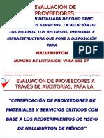 Metodo Cert Proveeds Halliburton Rev c