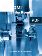 Catalogo do Centro de Torneamento Romi-E