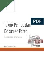 Pembuatan Dok Paten
