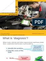 Diagnostic Procedure and Scan Tool