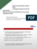 4. Paparan Kebijakan Kementerian Kesehatan Dalam Pelaksanaan PPSP