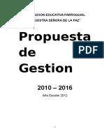 Propuesta de Gestion