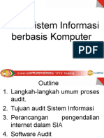 Audit Sistem Informasi Berbasis Komputer