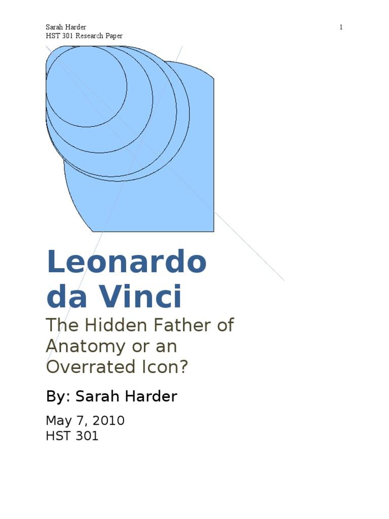 Da Vinci Hidden Father Of Anatomy Or Overrated Icon Circulatory