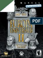 Europa Universalis II - Manual - PC
