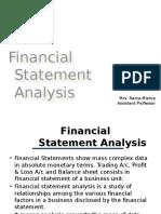 06 Financial Statemnet Analysis