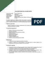 ProgramaCurso III ConservationLaws