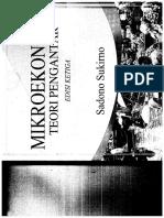 MikroEkonomi Sadono Sukirno