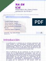 Modelo Matemático de López Jimeno