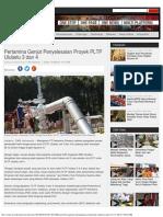 Pertamina Genjot Penyelesaian Proyek PLTP Ulubelu 3 Dan 4