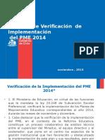 PPT Para Verificación PME 2014