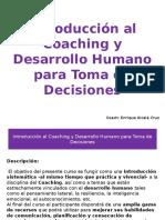 Introducción Al Coaching y Desarrollo Humano Para Toma