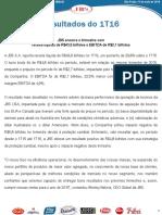 Press-release referente ao 1T16