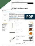 Línea _ Qué Es, Tipos, Características y Ejemplos