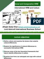 Week 5 - IHRM and Culture