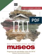 Programa de Actividades por el Mes Internacional de los Museos