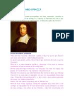 Deus Segundo Spinoza