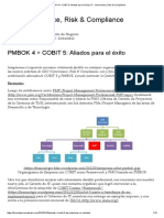 PMBOK 4 + COBIT 5_ Aliados para el éxito _ IT - Governance, Risk & Compliance