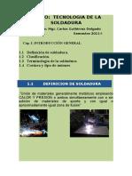 Capi Temas 1.1 1.2 1.3 Tecnologia de La Soldadura 2011-i