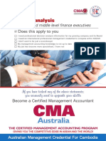 CMA (Australia) Executive Training Course Catalog for Cambodia