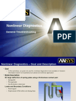 Nonlinear Diagnostics