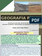GEOGRAFÍA FÍSICA 2015