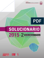 Solucionario de Admision 2015-2