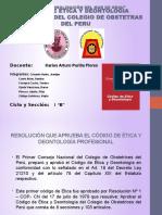 Codigo de Etica Deontologia Profesional Del Colegio de Autoguardado