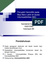 PPT PBL Blok 24 Inkompatibilitas ABO