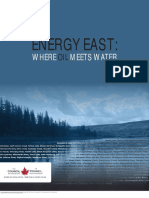 Energy East Where Oil Meets Water