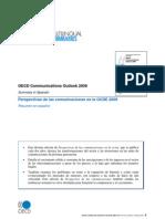 Perspectivas de las comunicaciones en la OCDE 2009